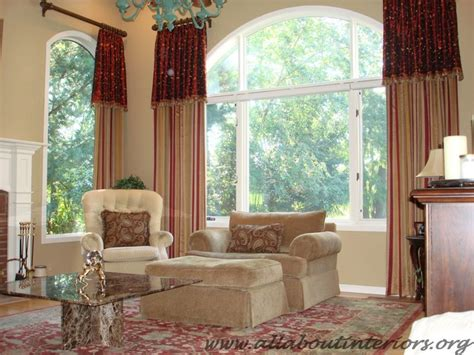 window treatments for family room traditional family