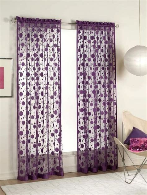 lavender polka dot curtains polkadot purple curtains for decorating