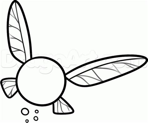 how to draw navi step by step video game characters pop