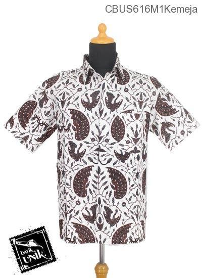 Batik Hem Motif Sayap Garuda sarimbit kemeja katun motif sayap garuda kemeja lengan