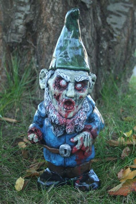 lawn gnome zombie yard gnomes for sale 69 yard decor creations