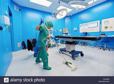 Cleaning Operating Rooms by Operating Room Cleaning Ambulatory Surgery Hospital