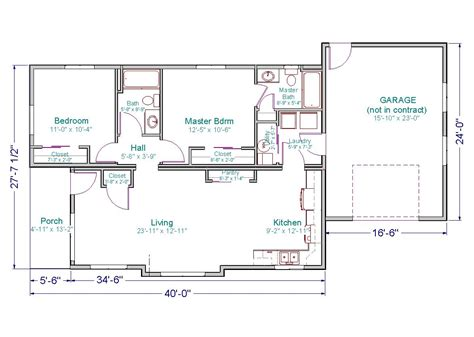 40 square feet impressive 30 x 40 house plans 3 small ranch house floor