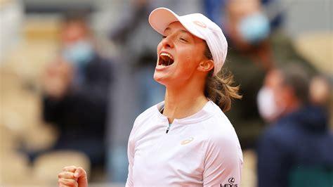 iga swiatek  youngest french open winner