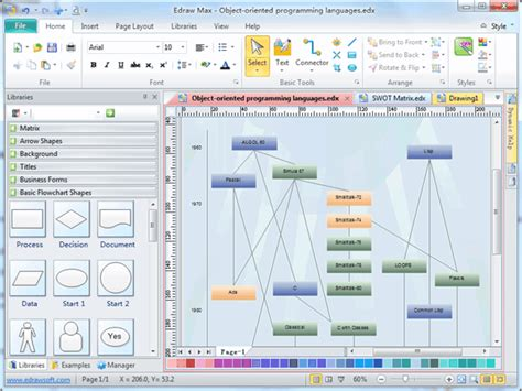software for flowcharts basic flowchart free templates and software available