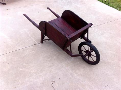 wooden wheelbarrow planter refurbished pallet wheelbarrow planter
