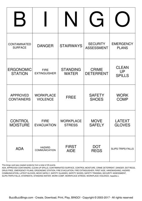printable games for the workplace work bingo game