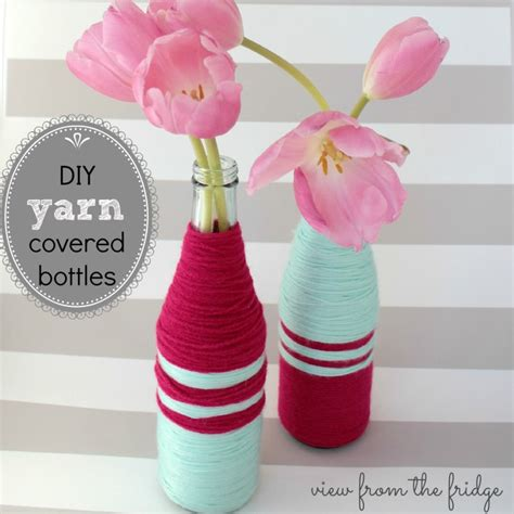 Diy Mercury Glass Vase 16 Ways To Upcycle Bottles In The Garage 174