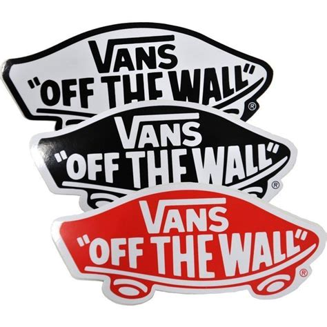 vans the wall stickers home design