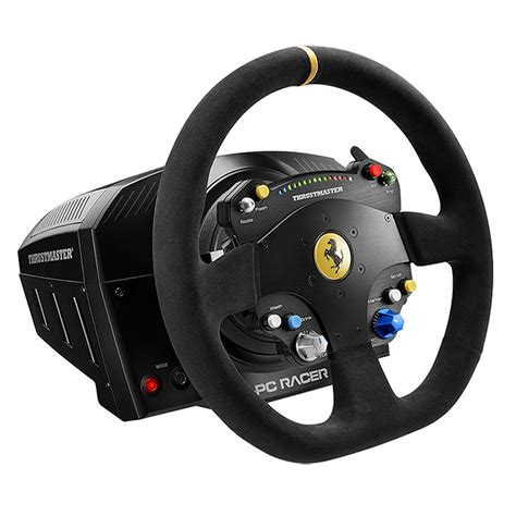 thrustmaster volante thrustmaster ts pc racer 488 challenge edition volant pc