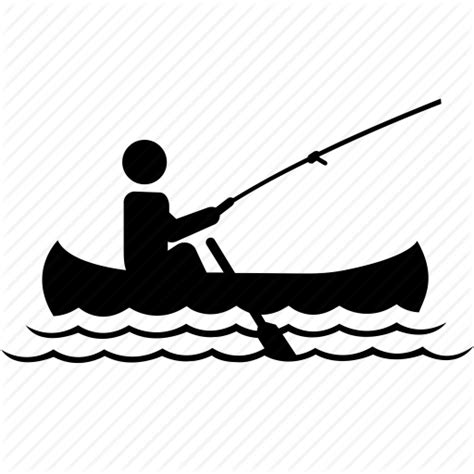 boat fishing icon sports by jisun park