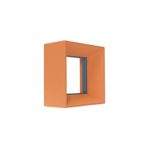 cornici quadrate cornice quadrata arancio azzurro cornici maselli