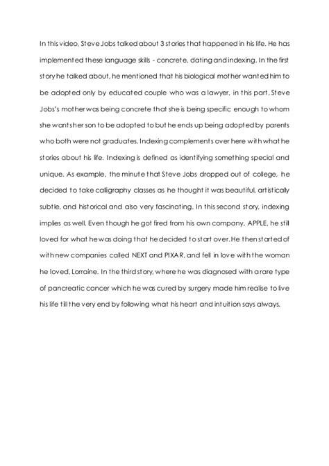 essay on biography of steve jobs epc essay 02 steve jobs