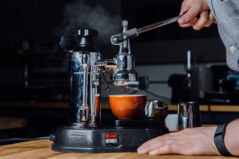 espresso shot machine video using a lever espresso machine at home prima coffee