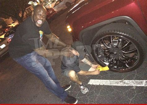 Booted Again For by Shaquille O Neal Truck Booted Again Tow Choked