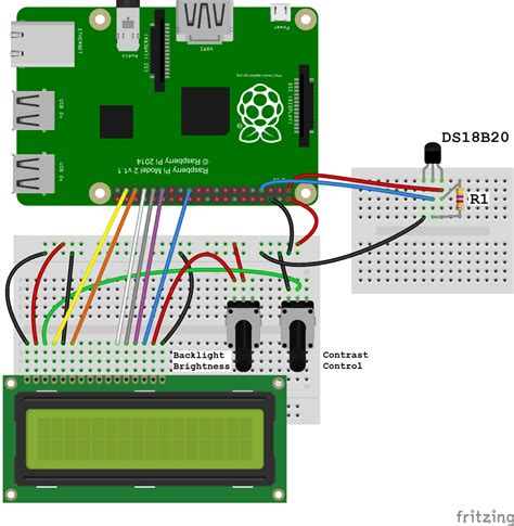 Tutorial From 0 To 1 Raspberry Pi And The Of Things raspberry pi ds18b20 temperature sensor tutorial circuit basics