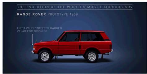 range rover model history land rover s history on all range rover models