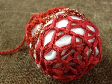 loom knit ornaments loom knit decorative or ornament for the
