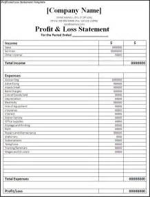 simple income statement template simple income statement template accounting best