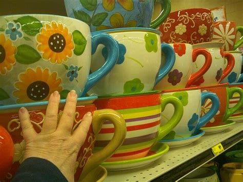 Large Coffee Cup Planter by I These Coffee Cup Planters Is There