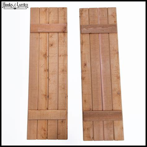 Wooden Shutters Barn And Reclaimed Wood Shutters Outdoor Hooks Lattice
