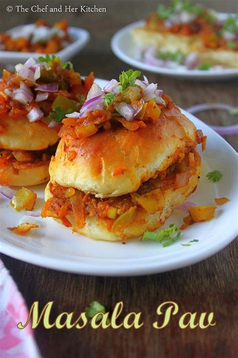 masala pav recipe the chef and kitchen masala pav recipe mumbai style