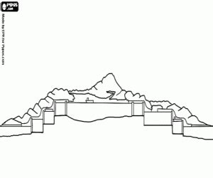 the panama canal 1914 coloring page printable game