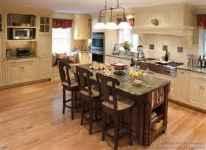 Idea For Kitchen Island Pictures Of Kitchens Traditional Two Tone Kitchen Cabinets Page 5