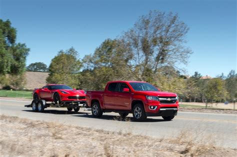 Colorado Diesel Towing by 2016 Chevrolet Colorado Towing Ratings Gm Authority