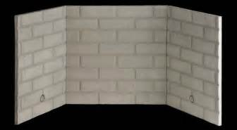 fmi traditional stacked fiber brick liner kit for 36 inch