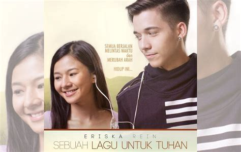 film ftv steven william steven william peluk mesra eriska rein di poster sebuah