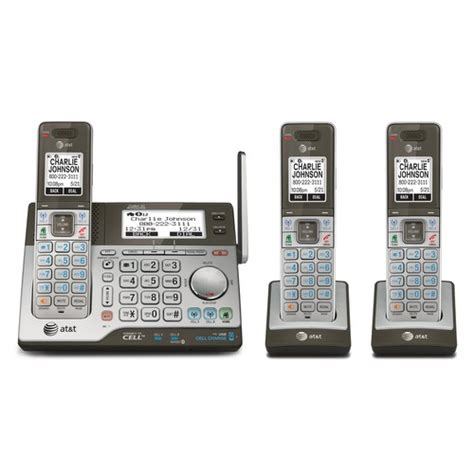 At T Home Phones by All At T Cordless Home Telephone Systems At T 174 Telephone
