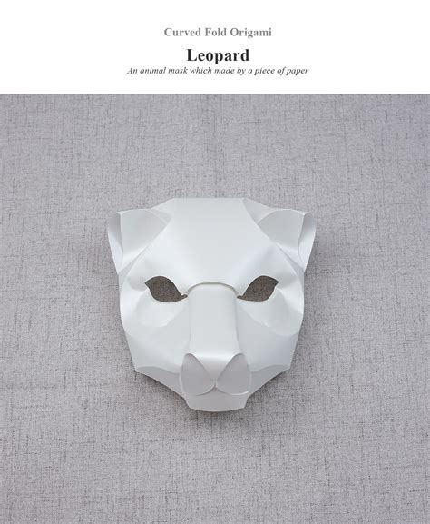 Origami Leopard - curved fold origami leopard on behance