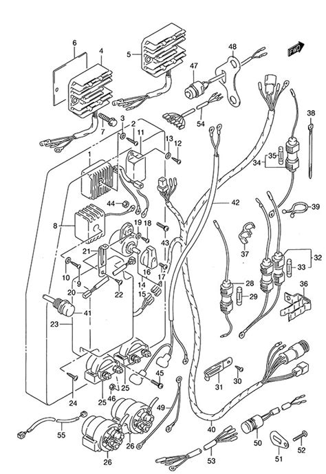 fig  electrical suzuki dt  parts listings