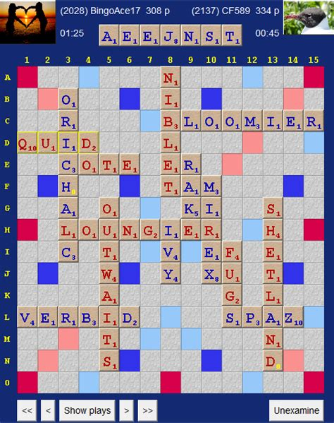 is quid a word in scrabble scrabble what was your best bingo scrabble