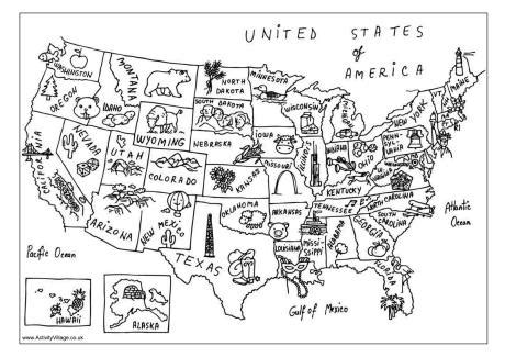 us map coloring page c is for coloring books for travel passports and pushchairs