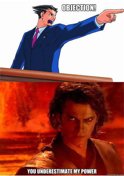 Objection Meme - objection power memes quickmeme