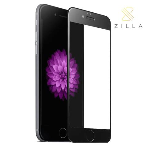 Tempered Glass Curved Edge For Iphone 6 6s zilla 3d protect tempered glass curved edge 9h for iphone 6 6s black jakartanotebook