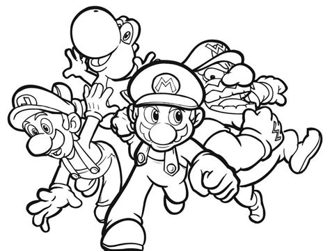blank coloring pages mario mario bad guy coloring pages coloring home