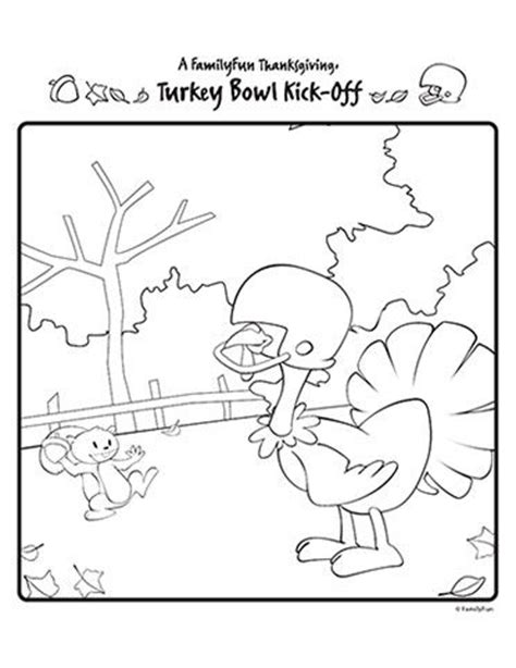 football turkey coloring page football turkey class work pinterest