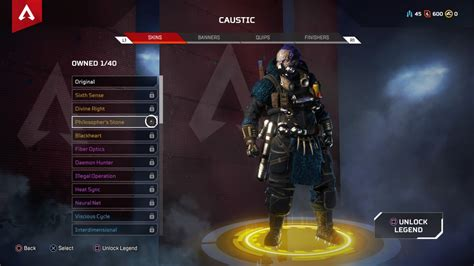 apex legends   legendary hero skins