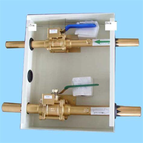 gas shut valve in cabinet gas valve box images