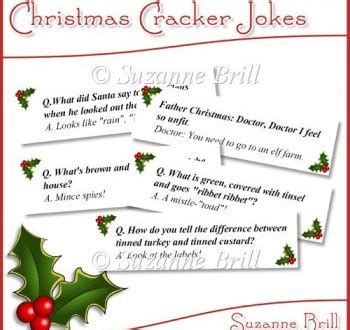 christmas cracker mottos jokes cracker jokes 2017 for everyone with images