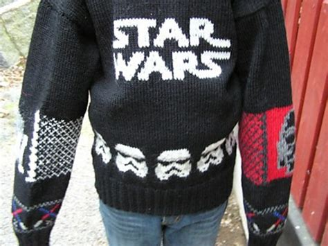 star pattern knit sweater star wars knit sweater www imgkid com the image kid