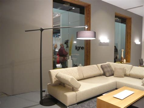 Inspired arc floor lamps in Bathroom Contemporary with