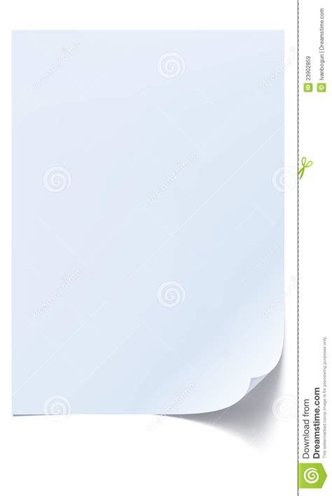 Of Paper - blank sheet of paper royalty free stock images image