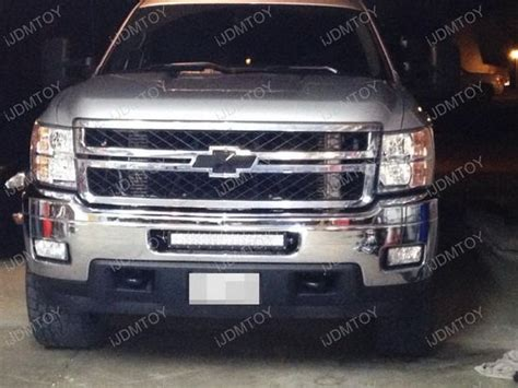 chevy silverado led light bar mount 120w strobe led light bar for chevrolet 2500hd 3500hd