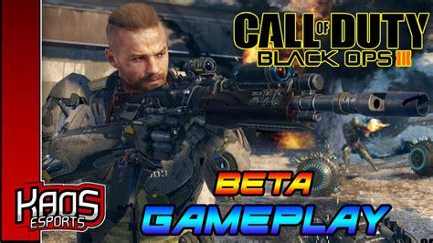 Kaos Black Ops 3 black ops 3 beta gameplay