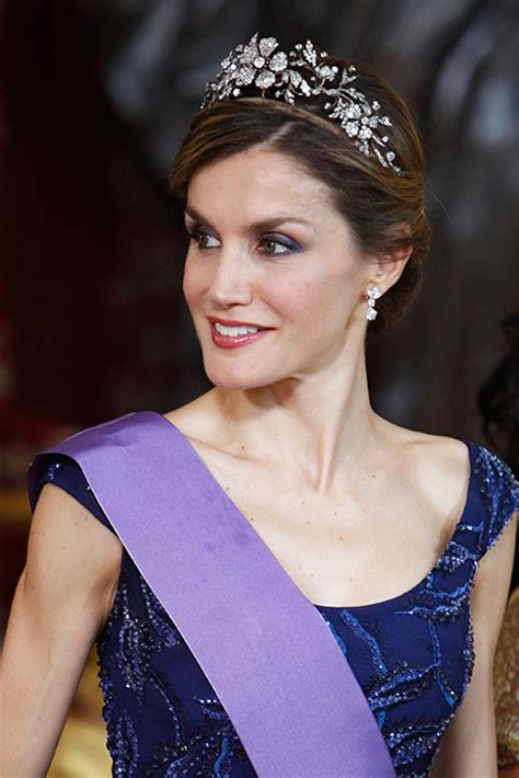 Princess Diana Prince Charles by Queen Letizia Of Spain S Favourite Tiara