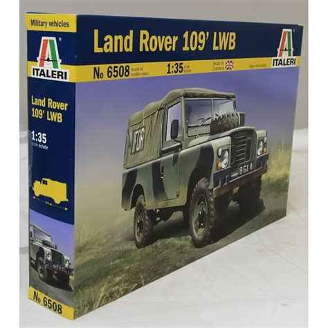 land rover italeri italeri 1 35 6508 land rover 109 lwb military kit